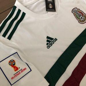 3ef04e411 adidas Shirts - Mexico white Soccer Jersey adidas men World Cup